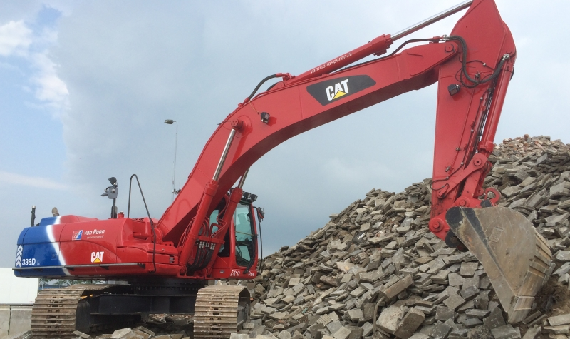Rupskraan CAT 336D